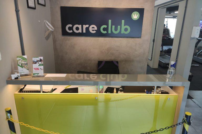 Care Club Porto Alegre Recepção
